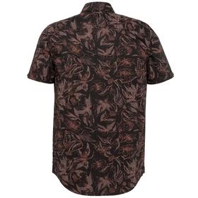 Short Sleeve Shirt Poplin With Ao