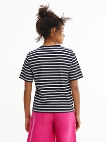 T-Shirt im Streifenlook