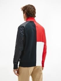 Color Block-Jacke mit Kontrast-Einsätzen