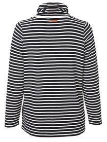 Sweatshirt Stehkragen 1/1 Arm Ringel