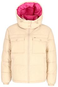 Jacke mit Kontrast-Kragen