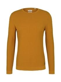 modern structured sweater
