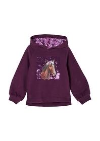 Sweatshirt mit Blumenprint