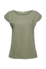 Aus Modal-Mix: fließendes T-Shirt