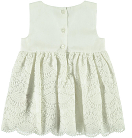 Baumwoll Häkelmuster Kleid