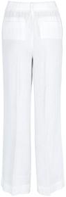 Bundfalten-Hose aus reinem Leinen