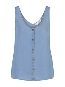 tencel top  with buttons