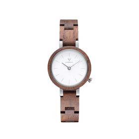 "Uhr ""Matilda Walnut Silver WATWMAT9344"""