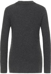 Hochgeschlossener Pullover aus Schurwolle
