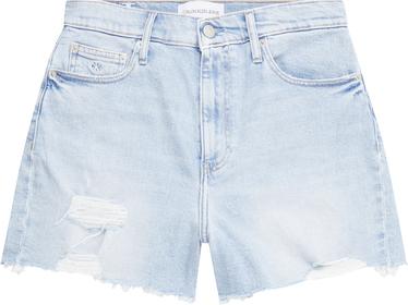 Denim Mom-Shorts