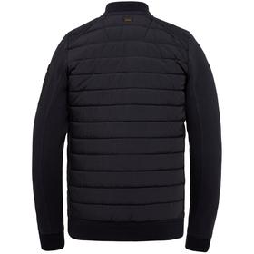 Zip jacket ottoman mixed padded ny