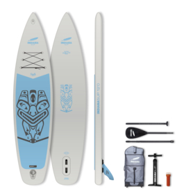 """SUP-Set """"Indiana 12'0 Family Pack Grey"""""""