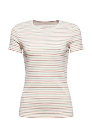 T-Shirt mit Streifen aus Organic Cotton