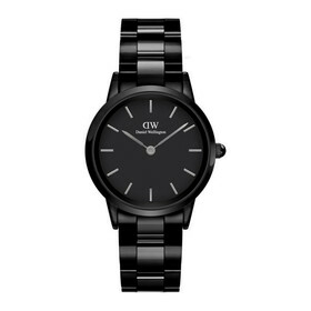 """Uhr """"Iconic Ceramic Black DW00100415"""""""