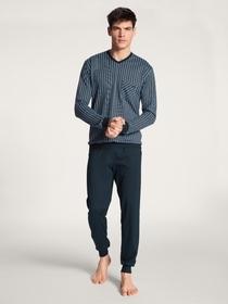 HERREN Pyjama mit B#ndchen