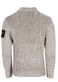Pullover mit Rundhalsausschnitt aus Eco-Wool Air