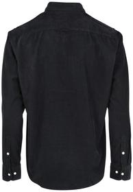 Langarm-Hemd in softer Cord-Qualität