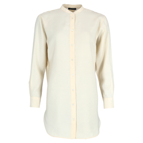 Blouse, long sleeve, stand up colla