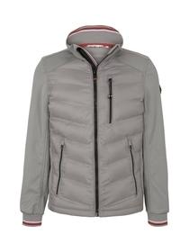 decorated hybrid jacket