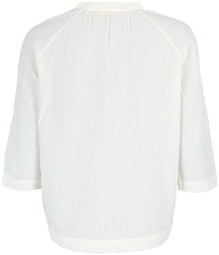 Blouse, three quater sleeve, stand