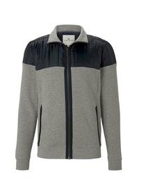 stand-up jacket nylon details