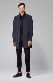 Herren Mantel mit Stehkragen