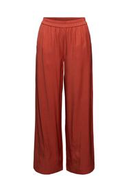 Weite Hose mit elastischem Bund