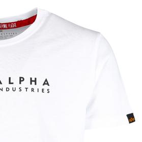 T-Shirt mit Alpha Logo