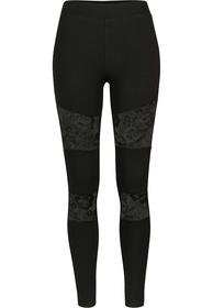 Ladies Laces Inset Leggings