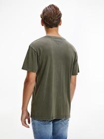 T-Shirt mit Metallic-Logo