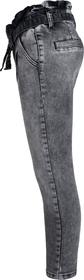 High-Waist Paperbag Jeans