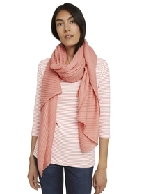 scarf solid pleated