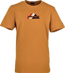 T-Shirt mit Berg-Logo