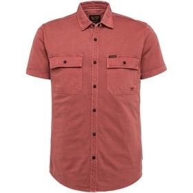Short Sleeve Shirt Garment Dye Jer