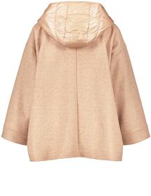 Oversize-Jacke aus Woll-Mix