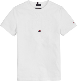 Tommy  Applique Logo Tee S/S