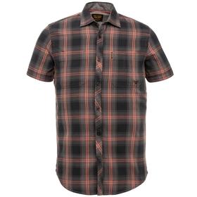 Short Sleeve Shirt Twill Check