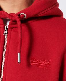 """Sweatjacke """"Vintage Logo EMB Ziphood"""""""