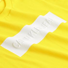 T-Shirt mit Logoprägung