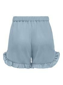 Shorts mit Rüschendetail