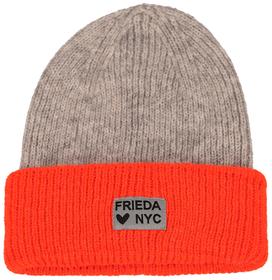 Zweifarbige Mütze