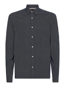 Slim Corduroy Mini Geo Prt Shirt