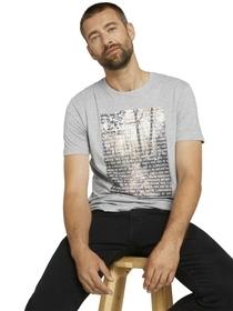 T-Shirt mit Fotoprint aus Bio-Baumwolle
