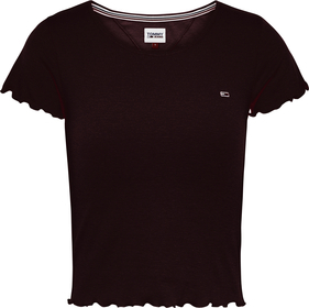Cropped Skinny Fit T-Shirt