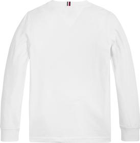 Bio-Baumwoll-Langarmshirt mit Logo