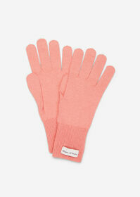 Gloves, knitted, sporty, various un