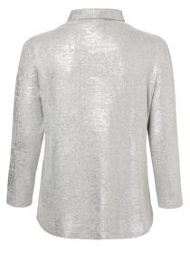 Sweatshirt Stehkragen 1/1 Arm Foliendruck