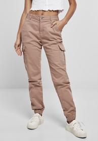 Ladies High Waist Cargo Pants
