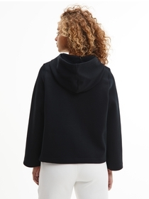 Cropped Hoodie aus Bio-Baumwolle