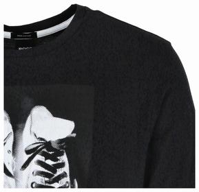 "T-Shirt ""TNinetees"" mit wasserbasiertem Artwork-Print"